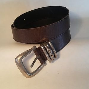 Brown belt size small to medium